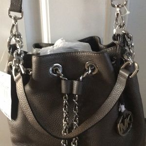 Michael Kors leather Frankie bag new with tags